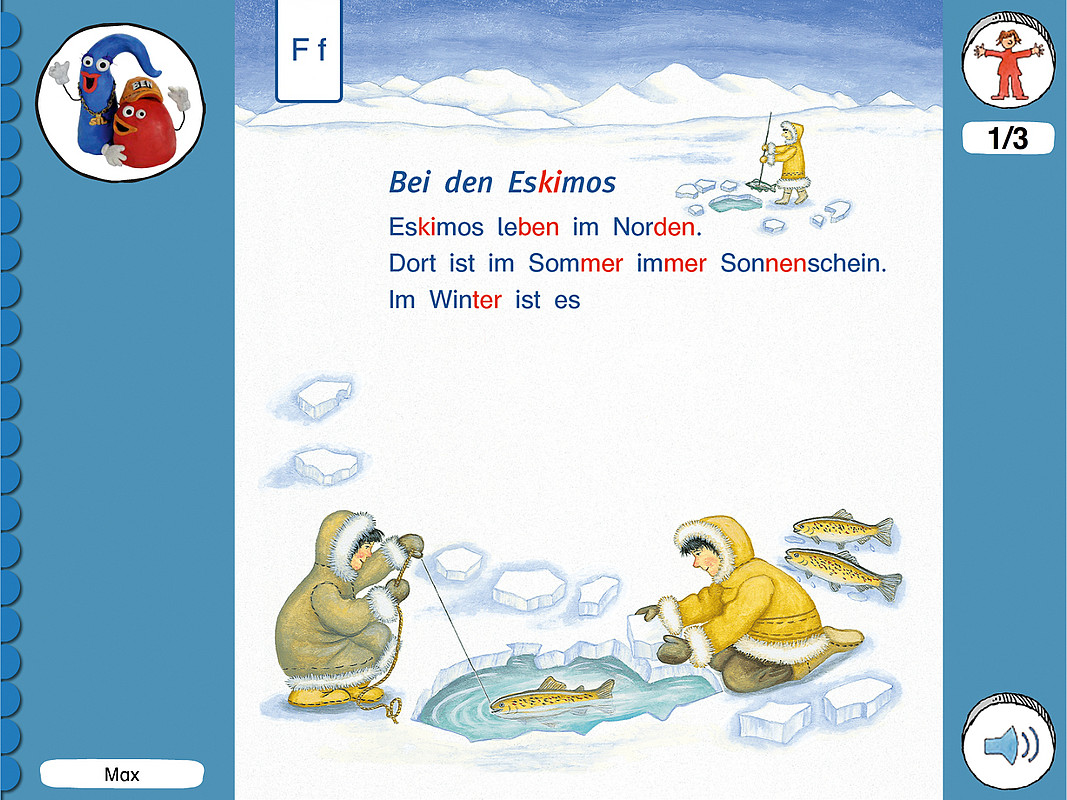 ABC der Tiere 1 CD-ROM: Fibeltext zum Mitlesen