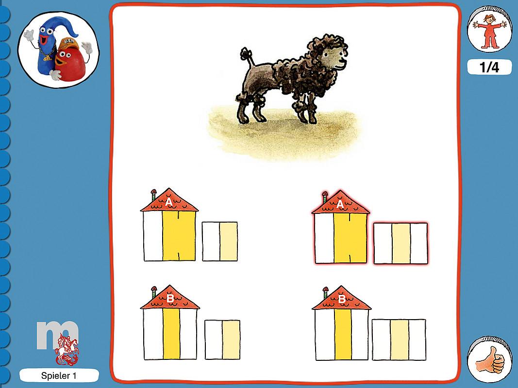 ABC der Tiere 1 CD-ROM: Häuschen schreiben