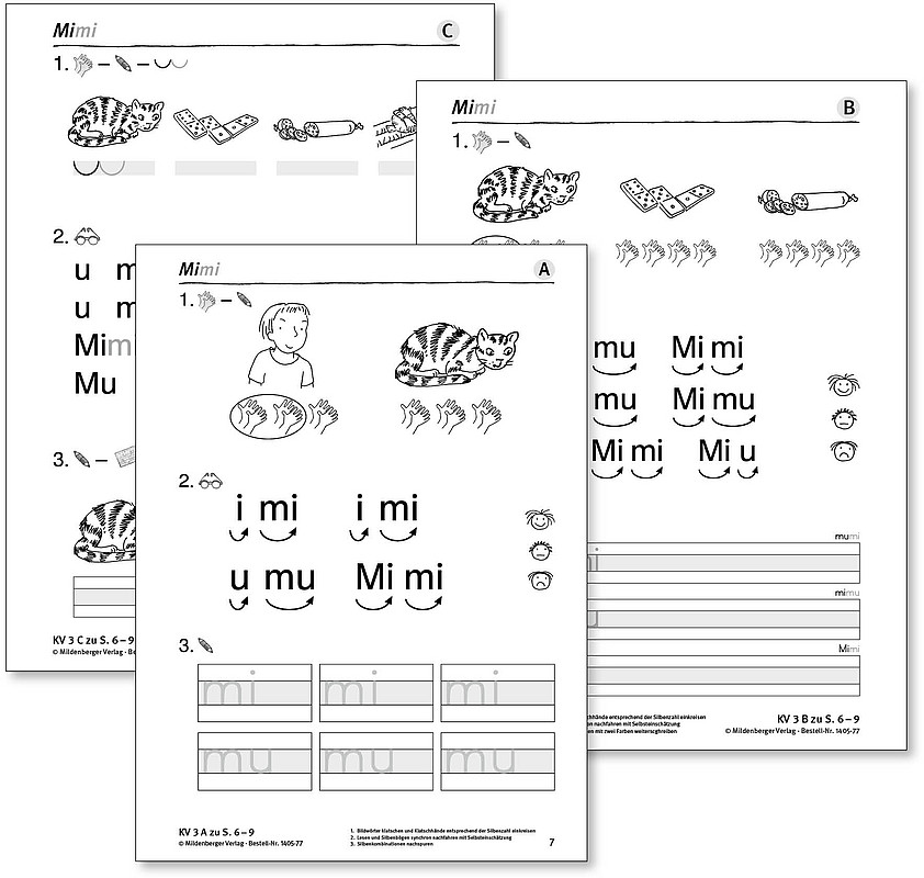 ABC der Tiere 1 – Arbeitsblätter zur individuellen Förderung und Differenzierung (Bestell-Nr. 1405-77)